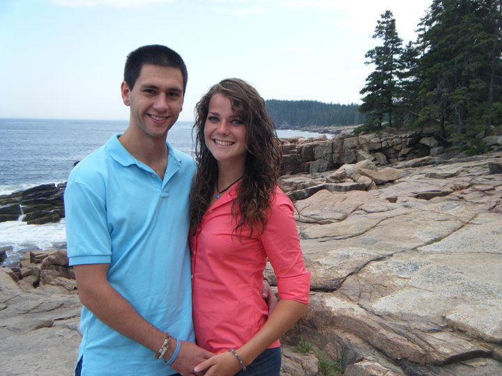 Our first summer together, August 2010.
